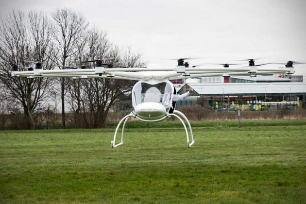 e-volo Volocopter VC200 First Manned Flight
