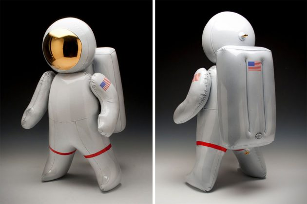 Ceramic Arts That Looks Like Inflatable Toys