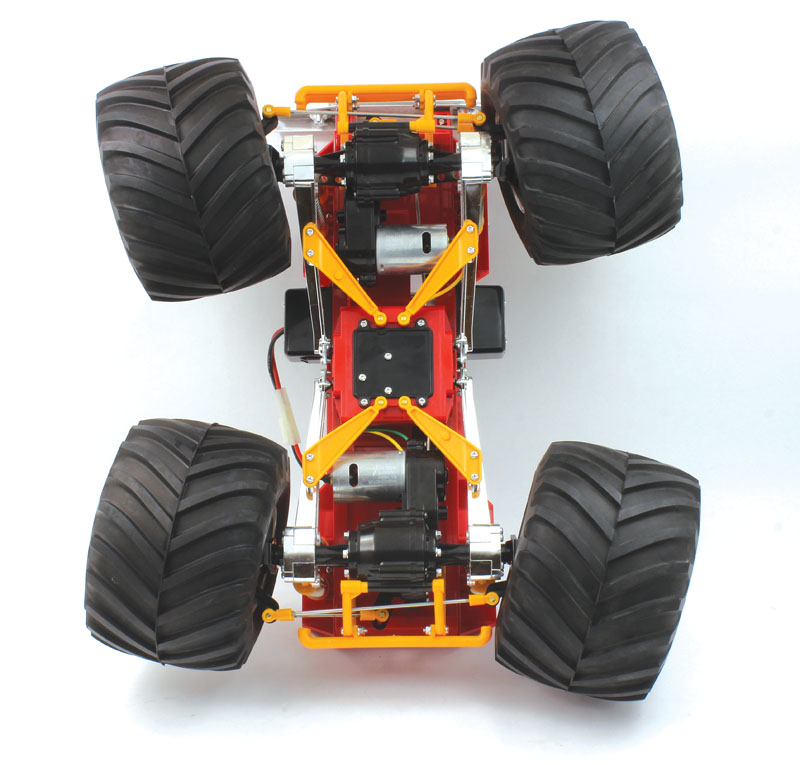 RC Review Tamia Bullhead 4 wheel steering