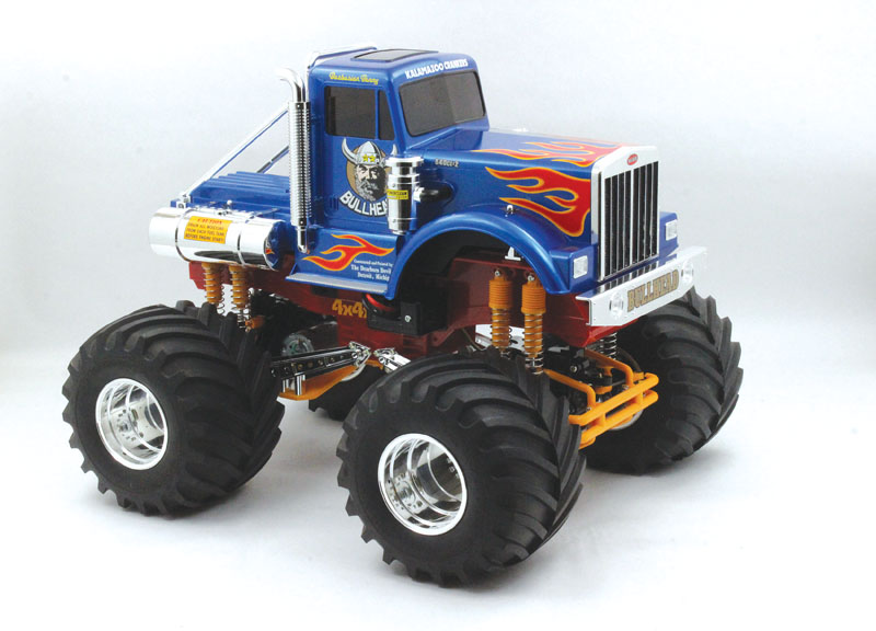 RC REview: Tamiya Bullhead, injection molded body