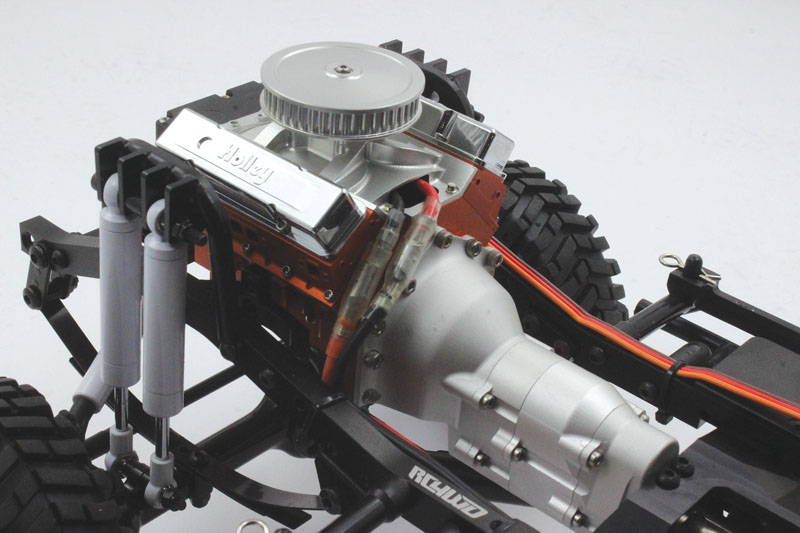RC4WD Trail Finder 2 Blazer - Scale V8 engine