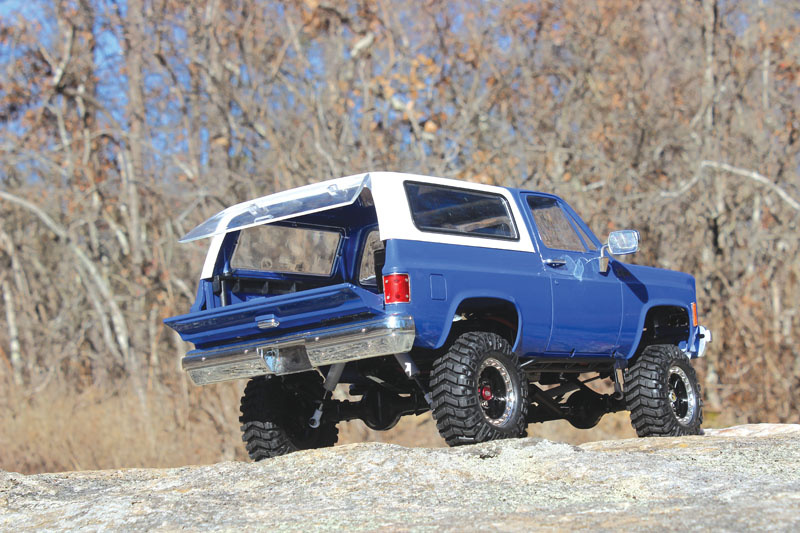 RC Review: RC4WD Trail Finder 2 Blazer - behind the wheel