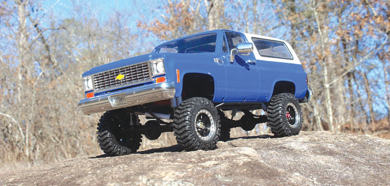 RC4WD Trail Finder 2 Blazer - injection molded body